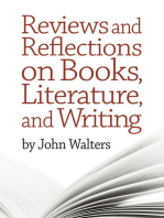 Reviews and Reflections on Books, Literature, and Writing