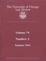 University of Chicago Law Review