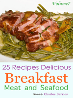 25 Recipes Delicious Breakfast Meat and Seafood Volume 7