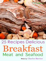 25 Recipes Delicious Breakfast Meat and Seafood Volume 16