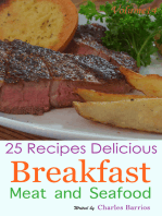 25 Recipes Delicious Breakfast Meat and Seafood Volume 14