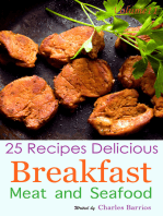 25 Recipes Delicious Breakfast Meat and Seafood Volume 11