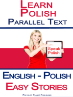 Learn Polish Parallel Text - Easy Stories (English - Polish)