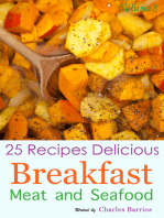 25 Recipes Delicious Breakfast Meat and Seafood Volume 8