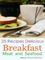 25 Recipes Delicious Breakfast Meat and Seafood Volume 13