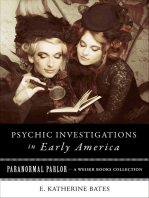 Psychic Investigations in Early America