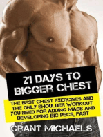 21 Days to a Bigger Chest