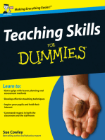 Teaching Skills For Dummies