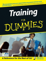Training For Dummies