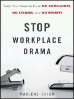 Stop Workplace Drama