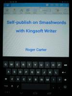 Self-publish on Smashwords with Kingsoft Writer