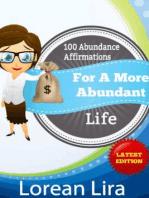 100 Abundance Affirmations For An Abundant Life