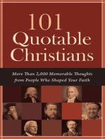 101 Quotable Christians