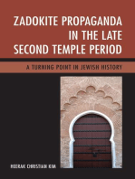 Zadokite Propaganda in the Late Second Temple Period
