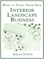 How To Start Your Own Interior Landscape Business