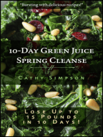 10-Day Green Juice Spring Cleanse