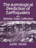 The Astrological Prediction of Earthquakes and Seismic Data Collection