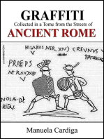 Graffiti Collected in a Tome from the Streets of Ancient Rome