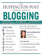 The Huffington Post Complete Guide to Blogging