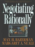 Negotiating Rationally