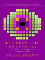 The Elements of Cooking