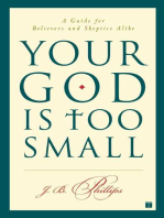 Your God Is Too Small
