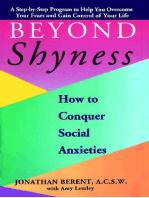 BEYOND SHYNESS