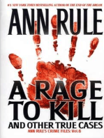 A Rage To Kill And Other True Cases: