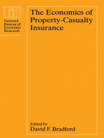 The Economics of Property-Casualty Insurance