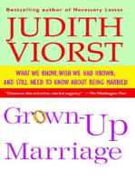 Grown-Up Marriage