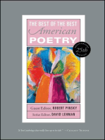 The Best of the Best American Poetry: 1988-1997