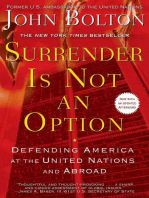 Surrender Is Not an Option