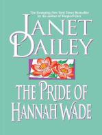 The Pride of Hannah Wade