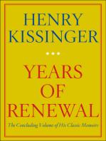 Years of Renewal