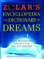 Zolar's Encyclopedia and Dictionary of Dreams