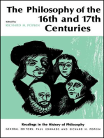 Philosophy of the Sixteenth and Seventeenth Centuries