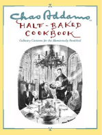 Chas Addams Half-Baked Cookbook