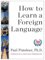 How to Learn a Foreign Language