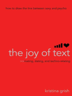 The Joy of Text