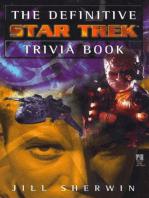 The Definitive Star Trek Trivia Book
