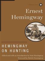 Hemingway on Hunting