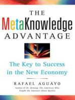 The Metaknowledge Advantage
