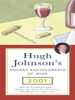Hugh Johnson's Pocket Encyclopedia of Wine 2001