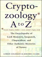 Cryptozoology A To Z