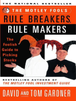 The Motley Fool's Rule Breakers, Rule Makers