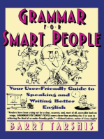 Grammar for Smart People