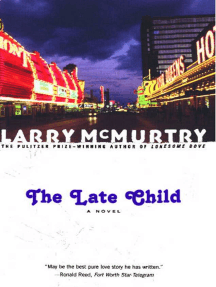 The Late Child: A Novel