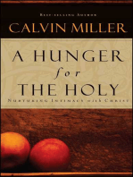 A Hunger for the Holy