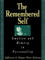 Remembered Self: Emotion and Memory in Personality
