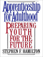 Apprenticeship for Adulthood